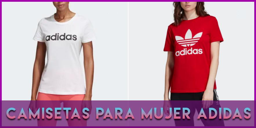 Camisetas para mujer Adidas