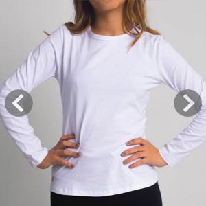 Camisetas de mujer manga larga